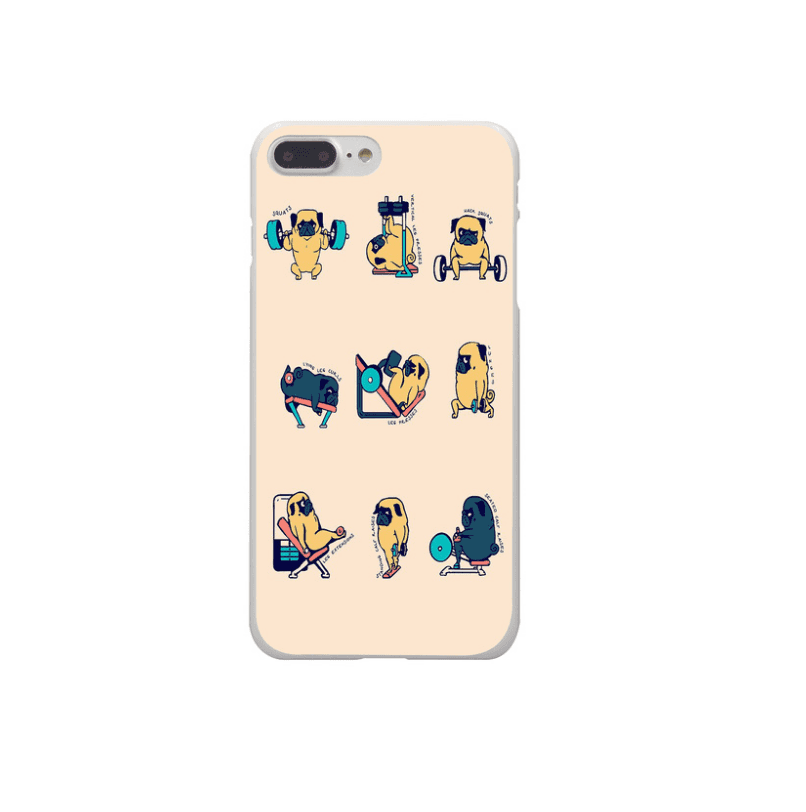 Phone Case: Pug Exercise