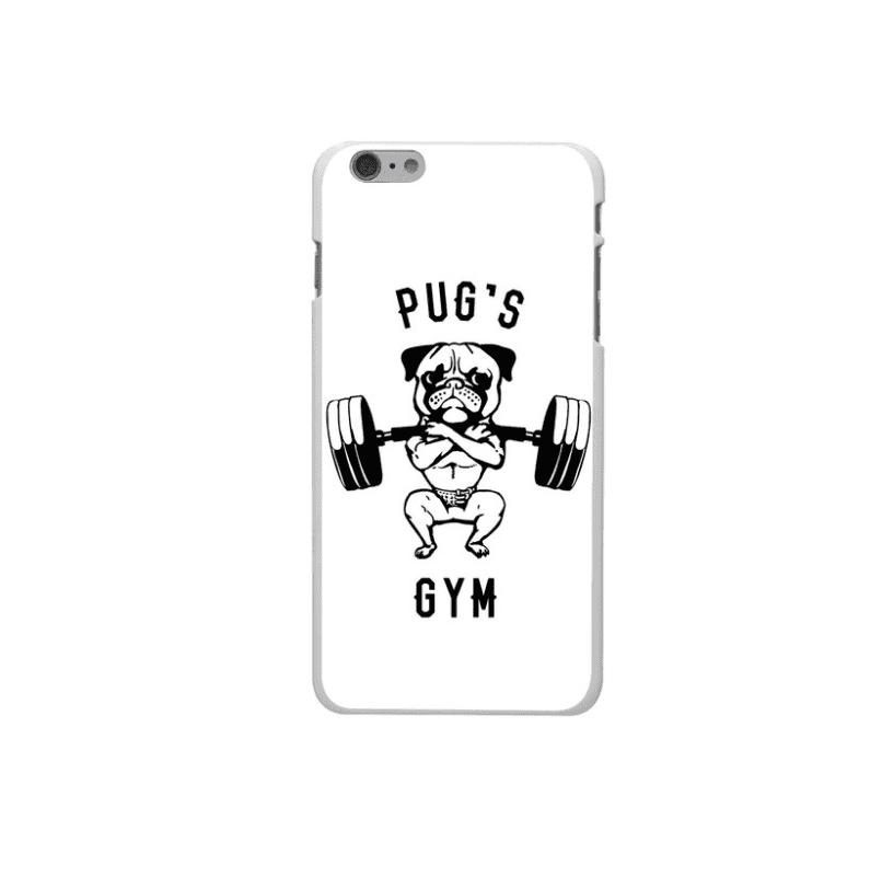 Phone Case: Pug's Gym