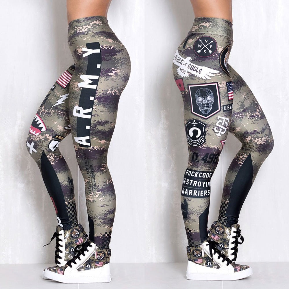Leggings: A.R.M.Y