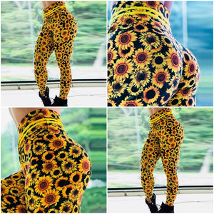 Leggings: Sunflower 2