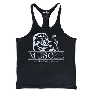Tank Top Muscle Alive: Lion