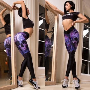 Leggings: Skalle