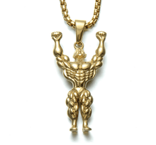 Load image into Gallery viewer, Necklace: Bodybuilder 3