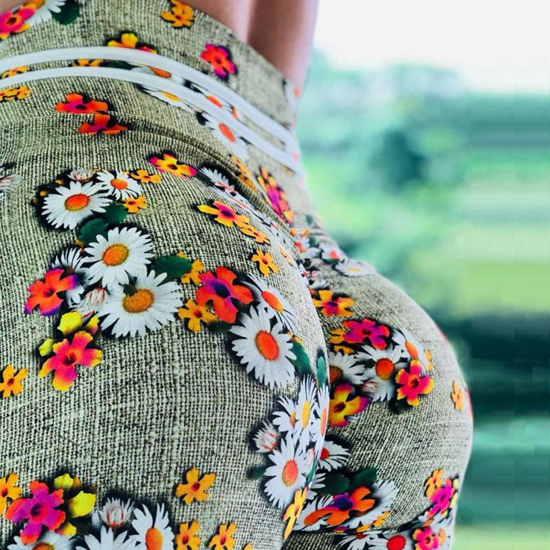Leggings: Urban Flower 2