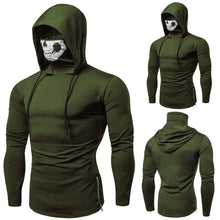 Load image into Gallery viewer, Muscle Hoodie: SKULL 2