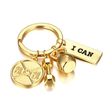 Load image into Gallery viewer, Keychains: Golden Motivation