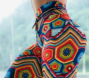 Leggings: Crochet