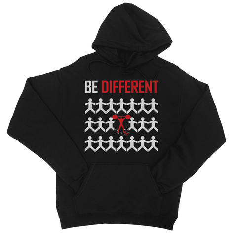 Be Different College Hoodie