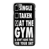 PC At The Gym Phone Case