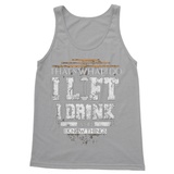 I Lift and I Know Things Softstyle Tank Top