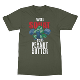 Squat For PB Softstyle Ringspun T-Shirt