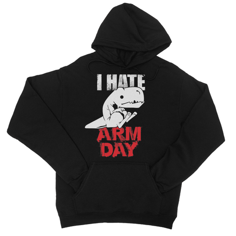 Arm Day College Hoodie