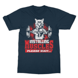 Installing Muscles 2 Softstyle Ringspun T-Shirt