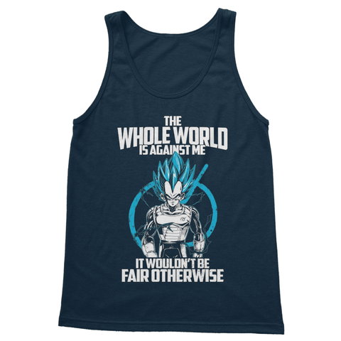 Against The World Softstyle Tank Top