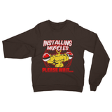Installing Muscles 5 Heavy Blend Crew Neck Sweatshirt
