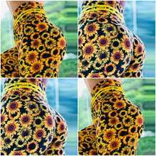 Load image into Gallery viewer, Leggings: Sunflower 2