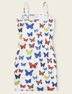 Butterfly Camisole Dress