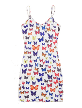 Load image into Gallery viewer, Butterfly Camisole Dress