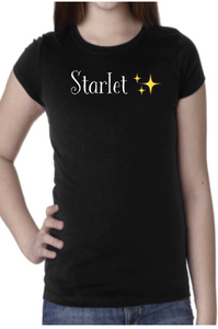 Starlet Short Sleeve Embroidered Tee