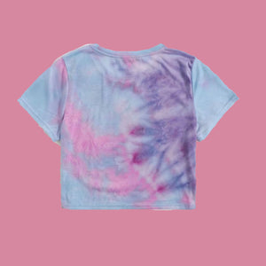 West Coast Cropped Tye Dye Tee