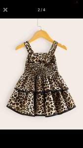 Michelle Animal Print Dress