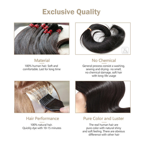 clip in remy human hair