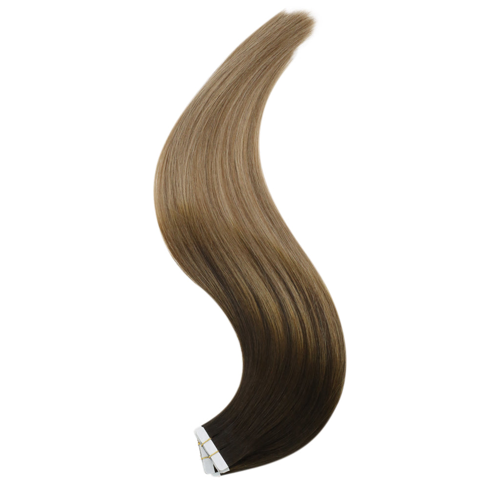 tape in hair extensions virgin brazilian hair