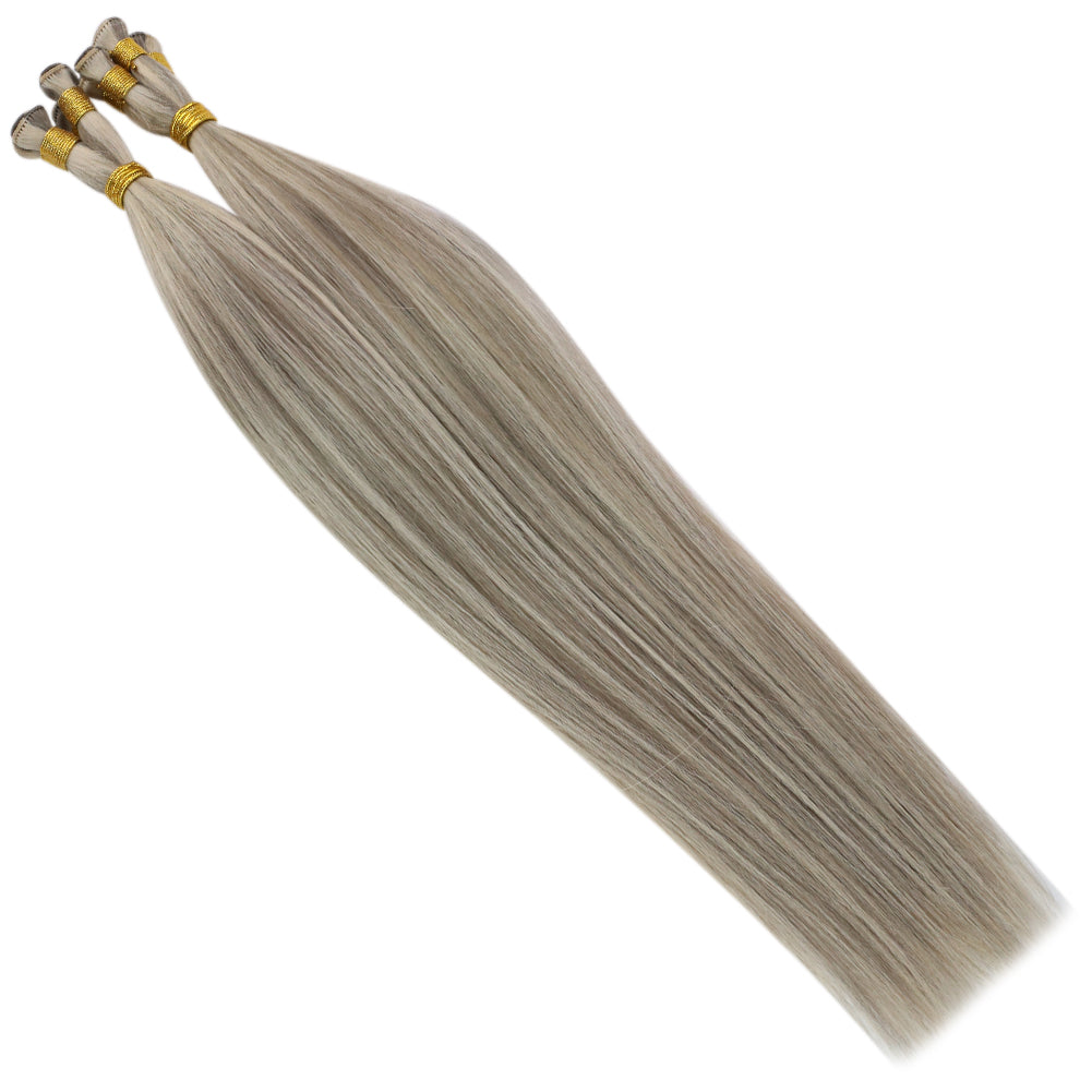 hair extensions double weft