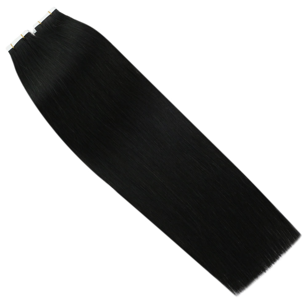 tape human hair extensions for black hair
