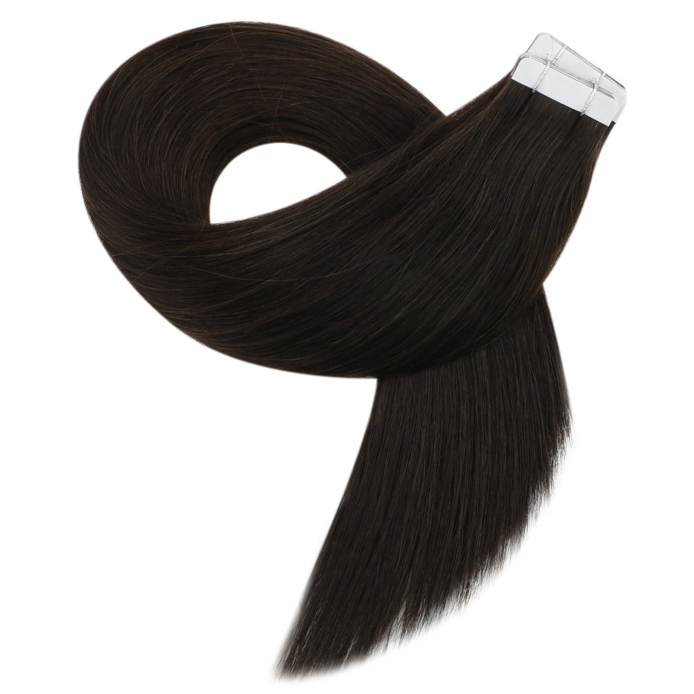 tape in black extensions