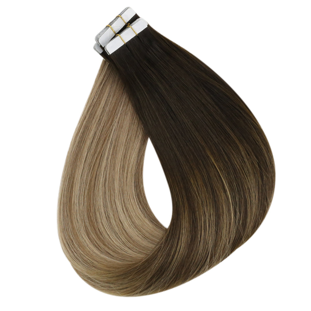 tape hair extensions real human hair