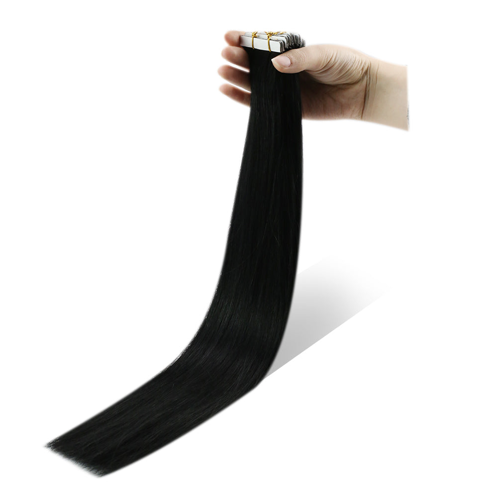 tape in virgin quality hair extensions