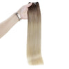 remy real hair extensions blonde