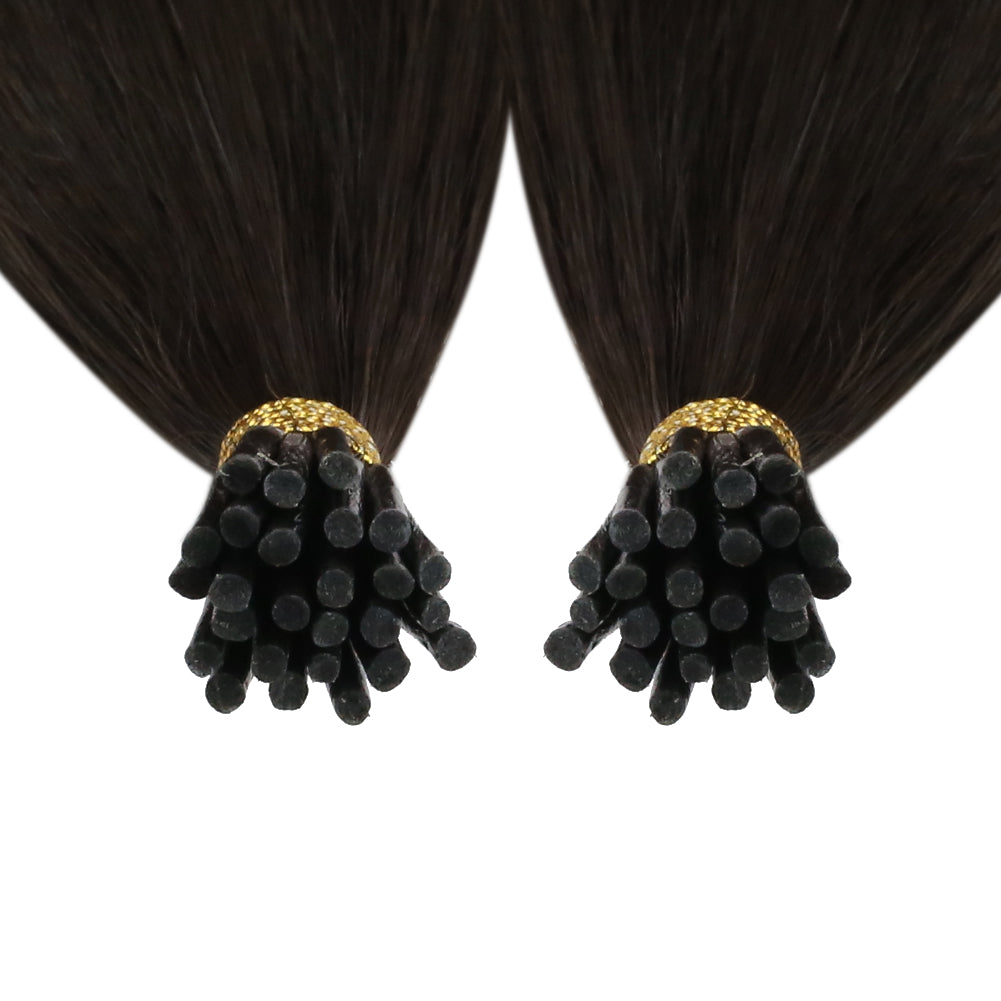 human hair extensions i tip full shine hair extensions