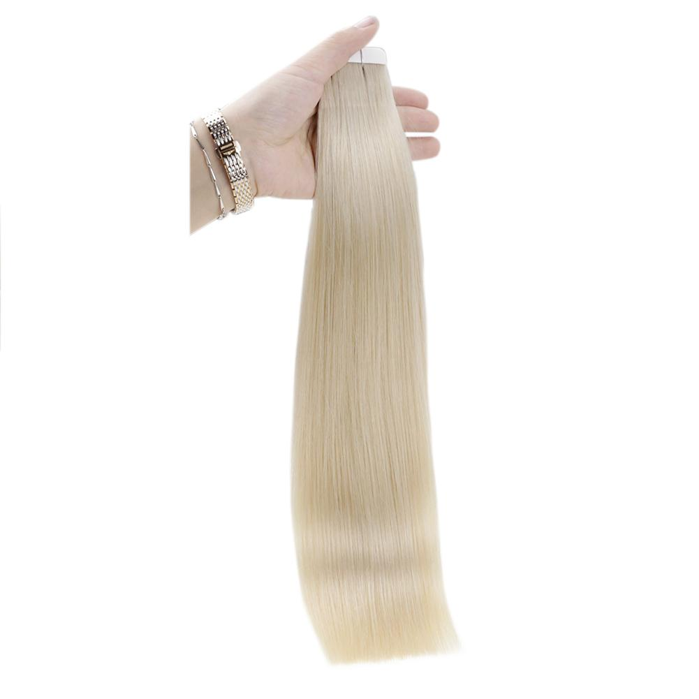 tape in human hair extensions 20 inch