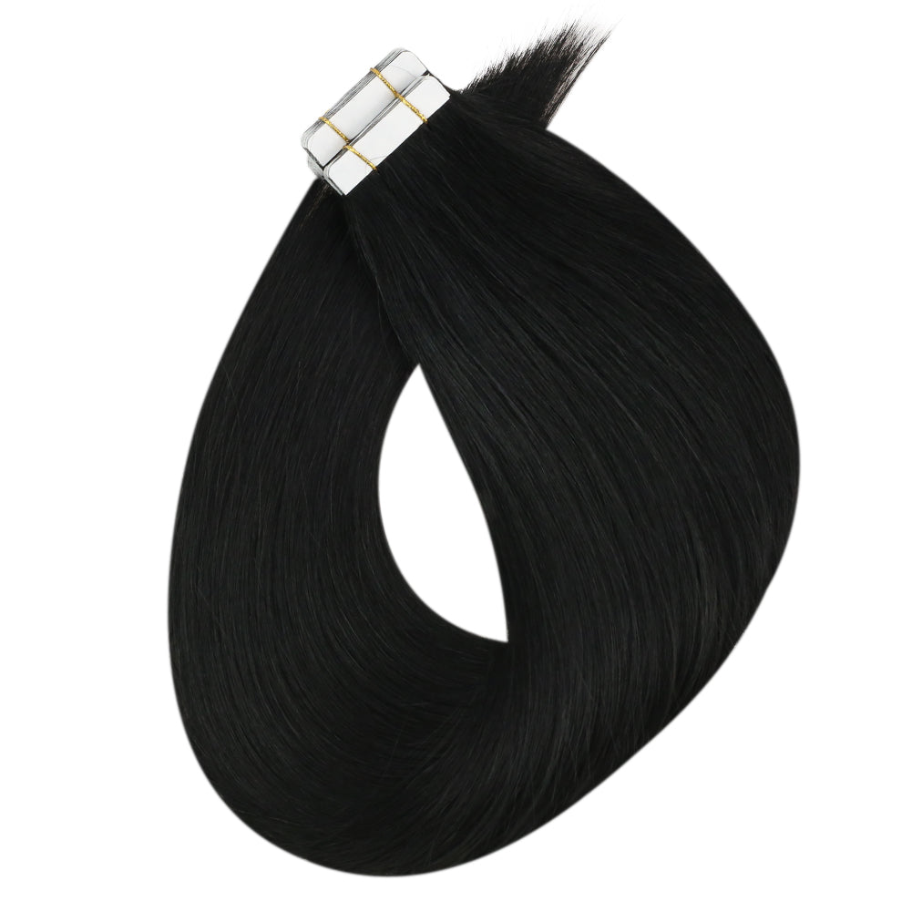 virgin human hair tape in extensions