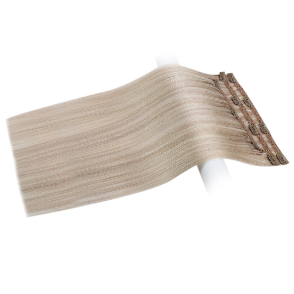 remy human hair clip in extensions 20 inch