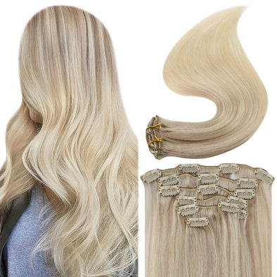 remy clip hair extensions