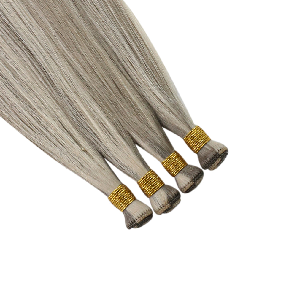 hair remy extensions hand made weft