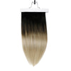 Full Shine Clip in Extensions 100% Remy Human Hair 10 Pieces Balayage (1B/8/22)