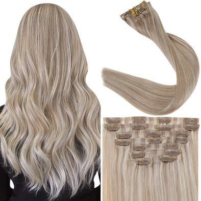 seamless remy hair extensions clip in