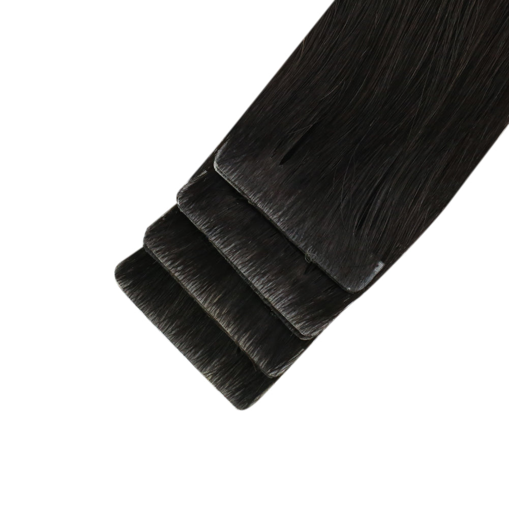 skin weft virgin tape in extensions