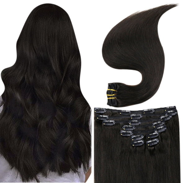 remy clip on hair extensions human hair
