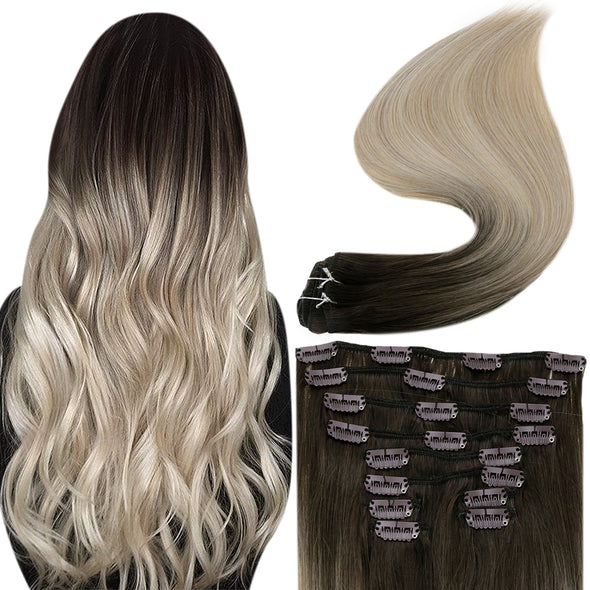 full shine clip in hair extensions