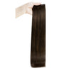 hair human extensions tape in brown hair