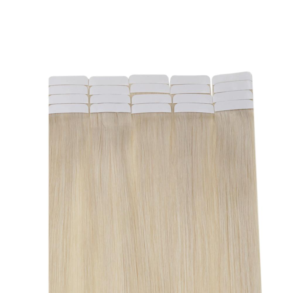 invisible tape in hair extensions human hair