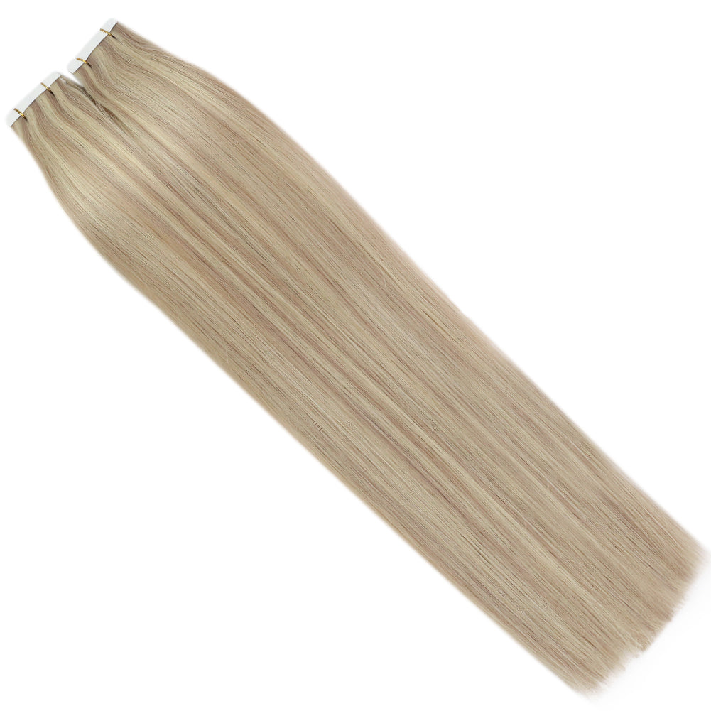 real hair tape in extensions