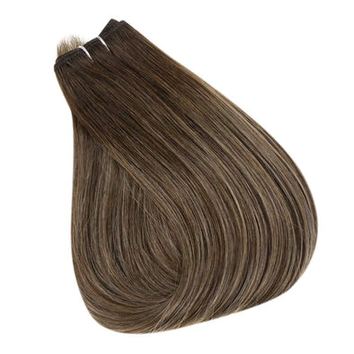 Tape in Hair Extensions 100% Remy Human Hair Balayage Ombre 20 Pieces 50 Grams (2/8/22)