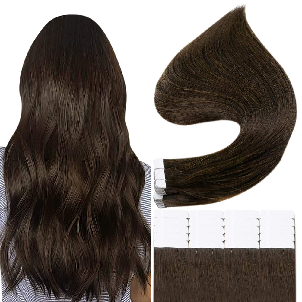 tape in real hair extensions