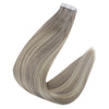 tape in hair extensions human hair 50g